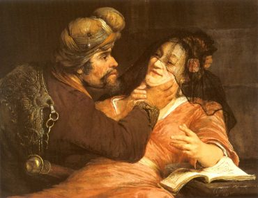 Tamar and Judah (painting by Arent de Gelder, 1667
