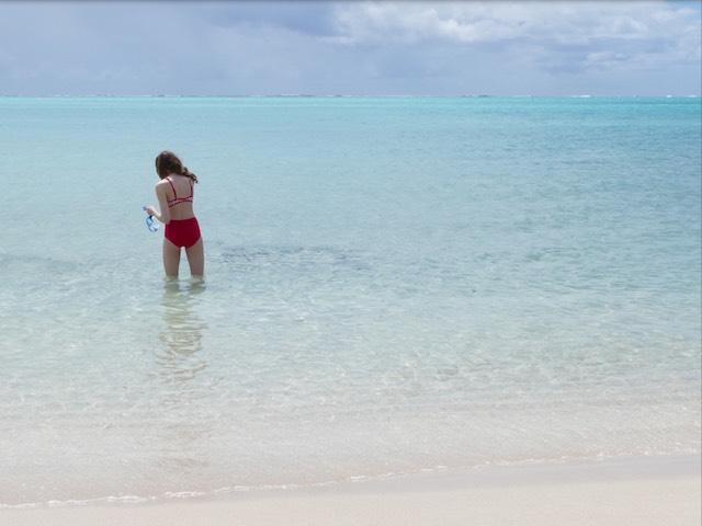 beach without brace