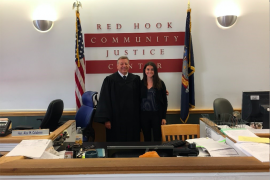 Alix and Judge Calabrase