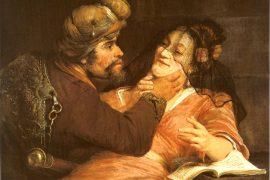 Tamar and Judah (painting by Arent de Gelder, 1667