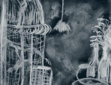 Image: Rupert. Charcoal on paper. Anita Jawary 2012
